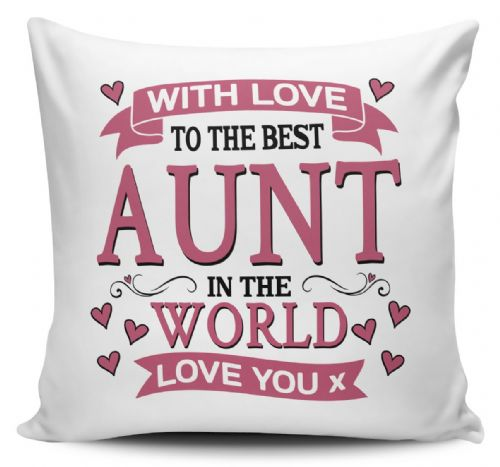With Love To The Best Relative In The World Lovely Cushion Cover
